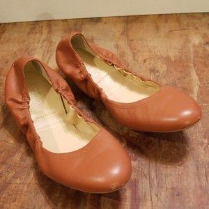 J. Crew leather ballet flats